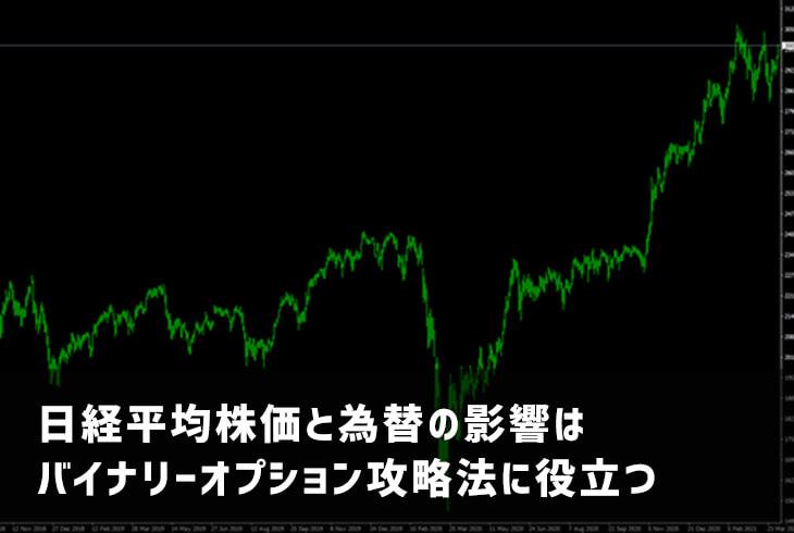日経平均株価と為替の影響はバイナリーオプション攻略法に役立つ